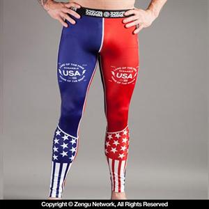 Scramble USA Grapping Tights
